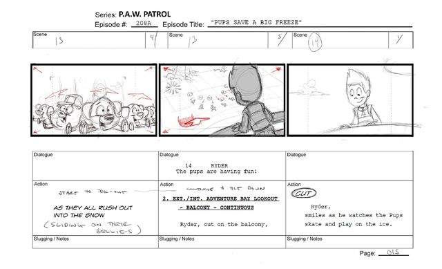 File:PAW Patrol Pups and the Big Freeze Storyboard Ryder and the Pups.jpg
