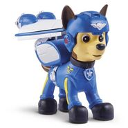 PAW Patrol Air Rescue Chase, Pup Pack and Badge