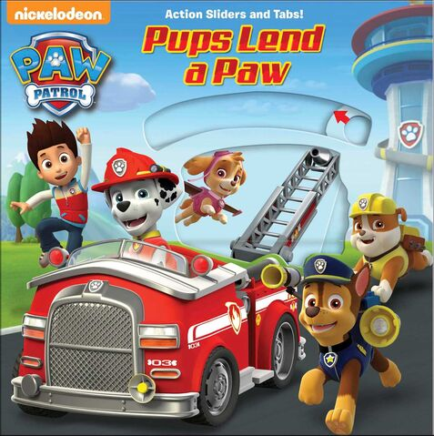File:PAW Patrol Nickelodeon Pups Lend a Paw Book Cover Art.jpg