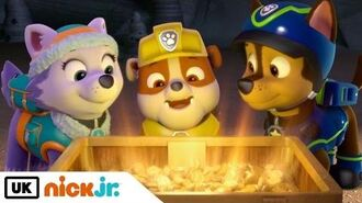 Paw Patrol Pups Save an Outlaw's Loot Nick Jr. UK