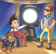 PAW Patrol Cap'n Turbot Captain Ryder Chase Zuma