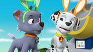 PAW Patrol Pups Save a Satellite Scene 1