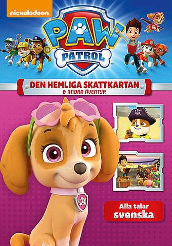 File:PAW Patrol Den hemliga skattkartan & andra äventyr DVD.jpg