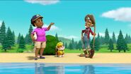 PAW Patrol Pups Save a Goldrush Scene 1