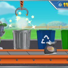 Rocky's Recycling Challenge Gameplay