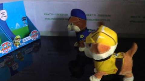 Fake PAW Patrol toys