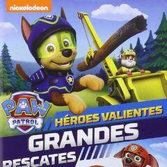 Spanish cover (<i>Héroes valientes, grandes rescates</i>)