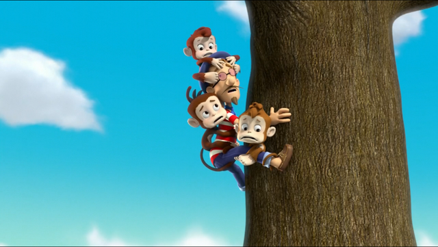 File:PAW Patrol Air Pups Francois Turbot and Monkeys.png