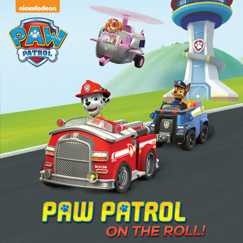 File:PAW Patrol on the Roll! Book Cover.jpg