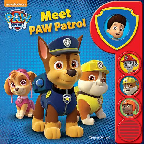 File:PAW Patrol Nickelodeon Meet PAW Patrol Book Cover.jpg