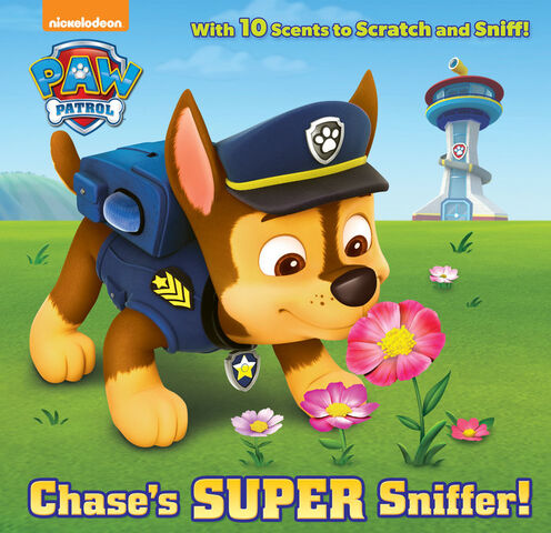 File:PAW Patrol Chase's Super Sniffer! Book Cover.jpeg