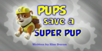 Pups Save a Super Pup