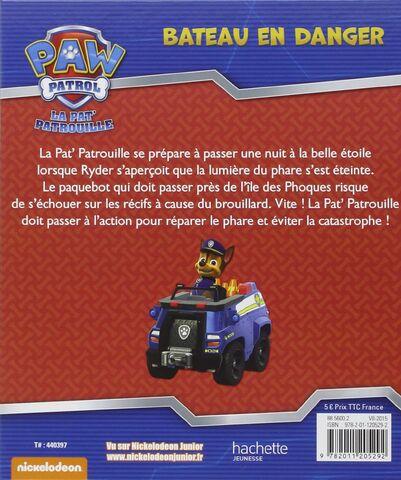 File:PAW Patrol Pat' Patrouille Bateau en danger Back Cover.jpg