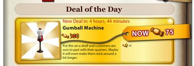 Gumball machine DOTD