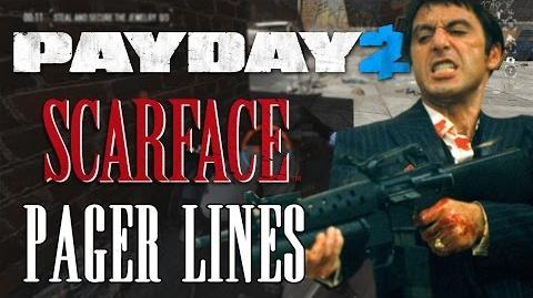 PAYDAY 2 - SCARFACE PAGER ANSWERS (TONY MONTANA)