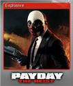 Explosive Trading Card-Foil