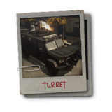 Hint enemy turret