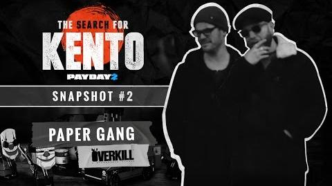 The Search for Kento Snapshot - KUF Design (Paper Gang)