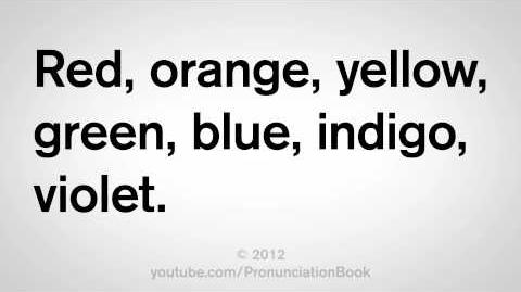 How to Say the Colors in English
