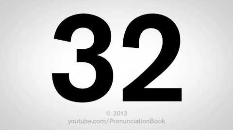 How to Pronounce 32-0