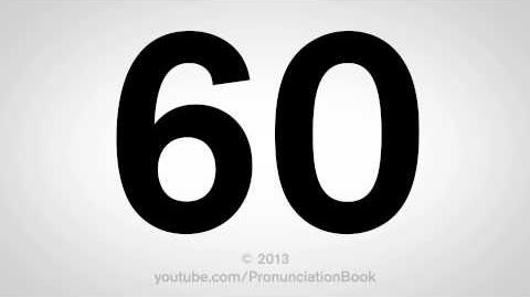 How to Pronounce 60-0
