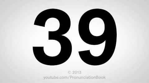 How to Pronounce 39