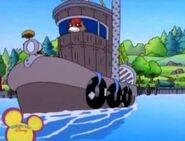 PB&J Otter - Walter on the Recycling Boat