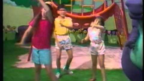 Video - Barney and the Backyard Gang Previews   PBS Kids ...