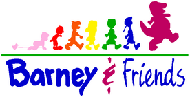 Barney & Friends Logo (Re-Edited)