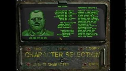 Let's Play Fallout 1 01 Outside the Vault