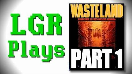 LGR Plays - Wasteland - Part 1 ft
