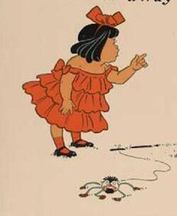 Little Miss Muffet 1 - WW Denslow - Project Gutenberg etext 18546