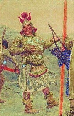 Goliath biblica