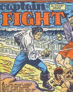Captain fight pirate