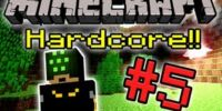 Minecraft HC! - Part 5 (CREEPERS GO BOOM!)