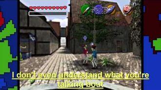 PeanutButterGamer's Zelda Rap with LYRICS