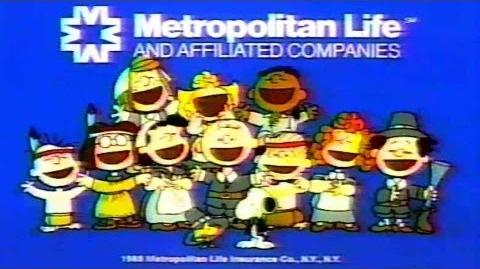 1988 - Commercial - Metropolitan Life Insurance Company - Happy Thanksgiving Charlie Brown!-0
