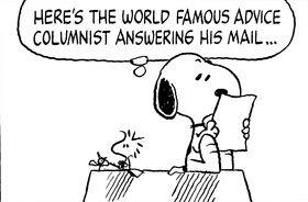 World Famous Advice Columnist
