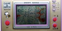 Snoopy Tennis (Game & Watch)