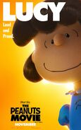 The Peanuts Movie Lucy van Pelt poster