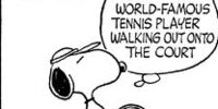 World Famous Tennis Player