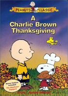 Charlie Brown Thanksgiving DVD 2000