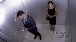 3x02 - Shaw and Kruger elevator