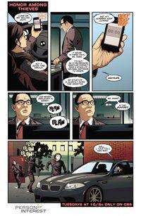 4x07 - Honor Among Thieves Comic