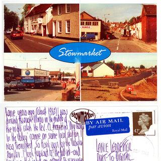 Postcard to Lance Ledbetter