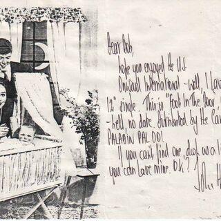 Postcard to Bob The Chiropodist