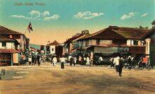 Chulia Street, George Town, Penang (1910)