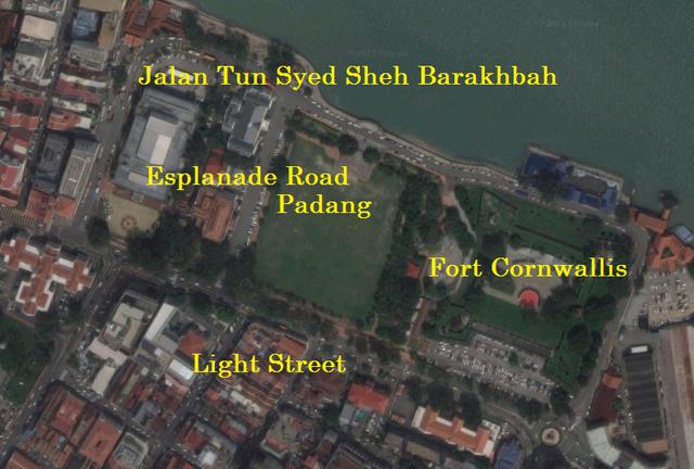 File:Esplanade, George Town, Penang map.PNG