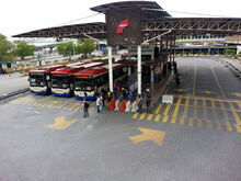 Weld Quay Bus Terminal, George Town, Penang