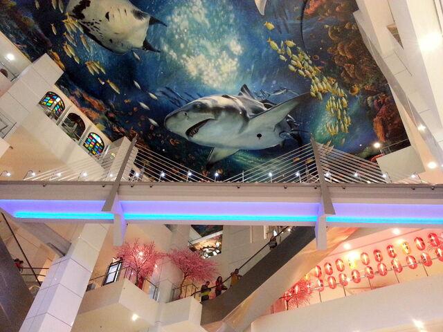 File:'Penang Bridge', M Mall 020, Penang Times Square, George Town, Penang.jpg